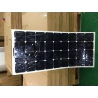 Quality High quality USA Sunpower Flexible solar panel 110W,120W for Yacht boat golf car etc wholesale