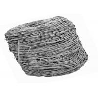 China 12 Gauge Galvanized Barbed Iron Border Fence Wire For Wire Fencing ISO9001 Passed on sale