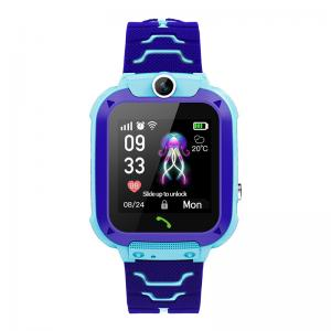 """Quality SOS One Key Calling 400mAh 1.44"""" Kids Touch Screen Smartwatch wholesale"""