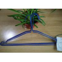 Quality Multi Color Powder Coating Hangers / Metal Wire Hangers 1.8 - 2.5mm Thickness wholesale