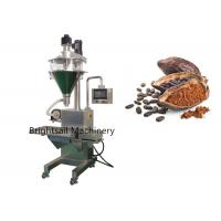 China Stand Pouch Food Powder Machine Milk Cocoa Coffee Powder Filling Customized Voltage on sale