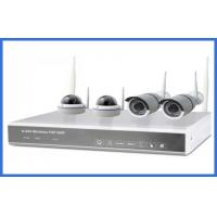 Quality 1/4 Indoor And Outdoor Cameras Realtime 1.3mp 4ch Wireless IP Kits High Resolution wholesale