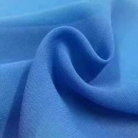 Quality 2018 the most popular wholesale high quality pearl chiffon fabric Mulinsen Woven Wholesale polyester dyed fabric wholesale
