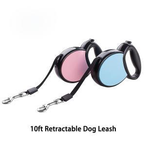 China Heavy Duty Retractable Dog Leash , Ergonomic Flexi Retractable Cord Dog Leash on sale