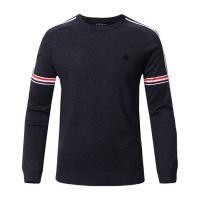 Quality Printed Viscose Long Sleeve Warm Sweater for Men wholesale