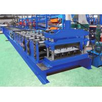 Quality Dovetail Decking Floor Roll Forming Equipment For 760mm Cover Width Profile wholesale