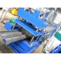 Buy cheap Highway Fence Cold Bending Roll Forming Machine 5 Rollers Leveling Hole Punching System Use Panasonic PLC Control from wholesalers