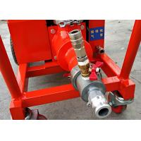 China Plastering Mortar Fireproofing Spray Machine Chemical And Paper Industry on sale
