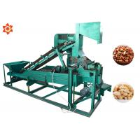 China Low Energy Consumption Pine Nut Shelling Machine Electric Control 1 Year Warranty on sale