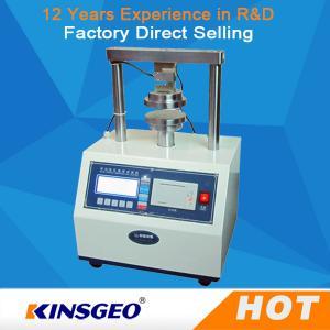 Quality 2000N Package Testing Equipment Edge Crush Test Machine 0.01kg Accuracy wholesale
