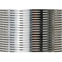 Quality 0.1-1.0mm Slot Wedge Wire Screen Panels For Food & Beverage Screens wholesale