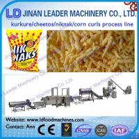 Quality corn chips making plant cheetos production line machinery kurkure production lines and mac wholesale