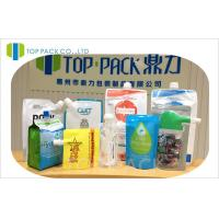 Quality Individual Soft Fruit Juice Pouches Food Grade Spouted Pouches Packaging wholesale