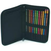 Quality Elegant Design Folding Artist Painting Portfolio Brush Travel Holder Durable wholesale