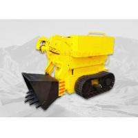 Quality Single Bucket Small Crawler Rock Loader High Performance For Underground Mining wholesale