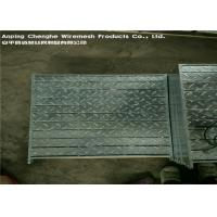 Quality Full Welded Compound Steel Grating Plate Zinc Coating For Building Material wholesale