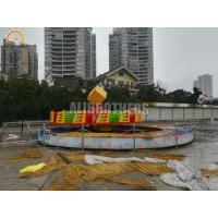 Quality Crazy Ballerina Dance Amusement Park Thrill Rides Flying Turntable 10 Kw wholesale