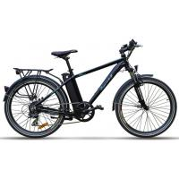 China Pedal Powered Electric Bike , Intelligent Brushless Motor Assisted Bike on sale