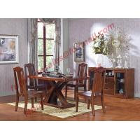 Quality Luxury Design for Solid Wooden Furniture Dining Room Set wholesale