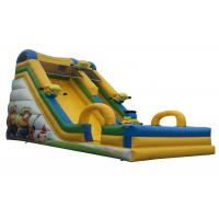 China 8x4x6M Commercial Inflatable Slide Fun Popular Convenient Bouncy House on sale