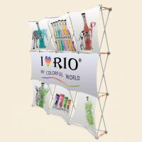 Quality 3x3 Vivi Vertical Pop Up BannerWith Plastic Hanger Strong Square Profile wholesale