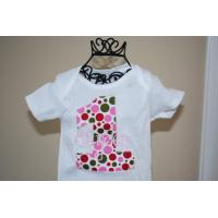 China Girl's Knitting Cotton T-Shirt (WLKSS-610) on sale