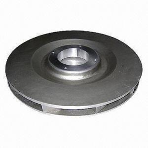 Quality Sand Gravity Low-pressure Aluminum Cast Impeller, Heat Treated, Processed Aluminum Metal wholesale