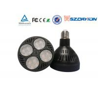 Quality High CRI 82 Par30 Led Bulbs 40W Spotlight 15 - 80 Degree Angle For Indoor Lighting wholesale