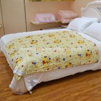Cheap Bright Color Silk Baby Comforter Bedding Sets Of