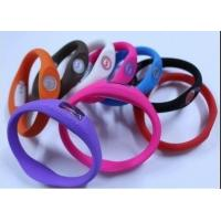 Buy cheap ion Silicone Watch from wholesalers