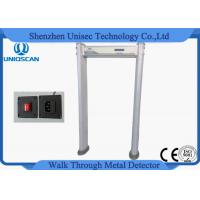 Quality Battery Backup Pollywood Walk Through Metal Detector Door For Hardware Factory Check wholesale