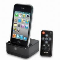 Quality Dock for iPod with Wireless Transmitter and 10m Effecrive Range, Used for TV/DVD/VCR/PVR/MP3/PC wholesale