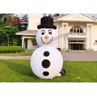 Quality Set Snowman Inflatable Christmas Decorations Santa Car Blow Up Tree For Holiday Yard Show wholesale