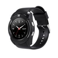 Quality 2018 Cheap Round V8 Smartwatch Wrist Android Bluetooth Smart Watch Phone OEM wholesale