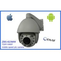 "Quality 20 Optical Zoom PTZ Security Camera IP66 7"" Mini Night Vision 120m 720P / 1080P wholesale"