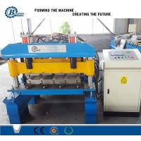 Buy cheap 25-205-820 Type Metal Steel Trapezoidal Sheet IBR Roof Panel Roll Forming Machine from wholesalers