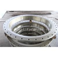 Quality Quenching And Tempering Carbon Steel Flange / Pressure Vessel Flange wholesale