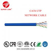 China Best Price Cat6 UTP Lan Cable Ethernet Network Cable with good quality on sale