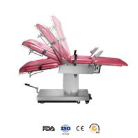 Quality 304 Stainless Steel Manual Hydraulic Operating Table For Gynaecology / Obstetrics wholesale