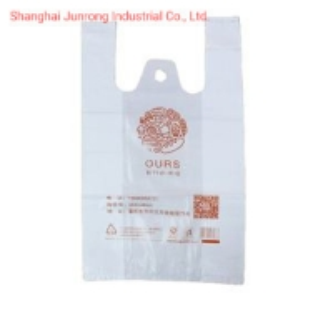 China Online Shipping Custom Print Logo Plastic T Shirt Packing Bag for Shop on sale