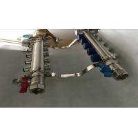 Quality Italy Style Intelligent Temperture Control 2 Port Underfloor Heating Manifold For Pex wholesale