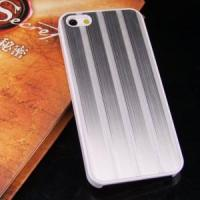Quality Stripe Style Chrome Back Cover Case for iPhone 5 (AP-051) wholesale