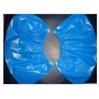 Cheap disposable footwear, waterproof pe/cpe plastic shoe cover for sale