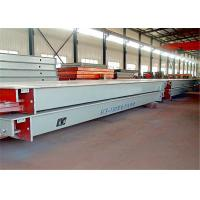 China Digital Type Truck Vehicle Weighbridge Rust Proof Painting Surface 6 - 24m Length on sale