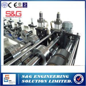 Quality 10 - 120kg / M3 Density Continuous PU Sandwich Panel Production Line With De - Coiler wholesale