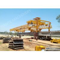 Quality Beam Launcher Gantry Crane for railway construction project with Reliable performance wholesale