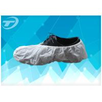 Quality SPP Fabric Disposable Waterproof Shoe Covers Handmade Or Machine Made wholesale