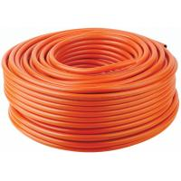 Quality 8*15mm Orange PVC Pipe / LP Gas Hose For For LPG Regulator Nigeria , 50m/Roll wholesale