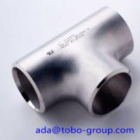 Quality ASME B16.9 Std XS XXS Carbon Steel / Stainless Steel Tee 1 inch - 48 inch wholesale