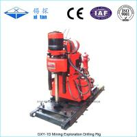Quality GXY-1D Mining Exploration Drilling Rig Skid Mounted , Blast Hole Drilling wholesale